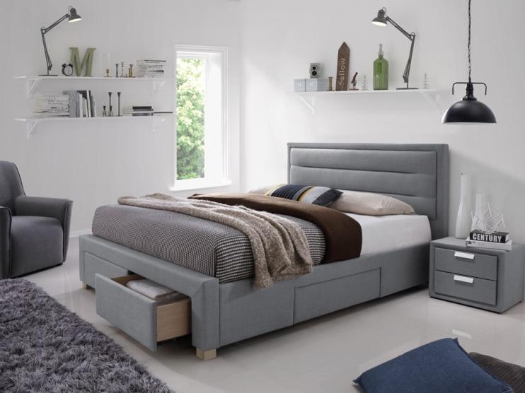 Jak urządzić sypialnię? - łóżka z pojemnikiem.